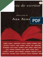 El Oficio de Escritor (Ana Ayuso)