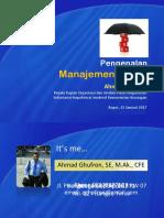 Mengenal Manajemen Risiko