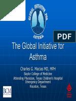 GINA Asthma Guide