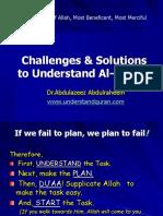 challengesandsolutionstounderstandalquran-1261767743-phpapp02.ppt