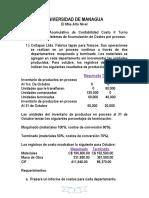 Asignación 1er Trabajo Acumulativo Contabilidad Costo II