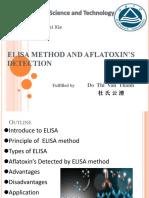 ELISA Method and Aflatoxin's Detection