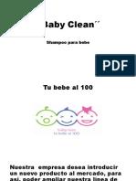 Baby Clean Trabajo Final de Marketing