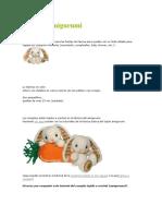 Conejos Amigurumi