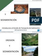 Presentacion Msc. Jorge Zafra - Transporte de Sedimentos