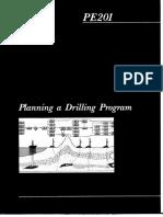 Planning a Drilling Program