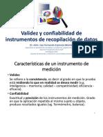 Tema 2 Validez y Confiabilidad de Instrumentos de Recopilación De