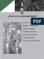 Que es la antropología