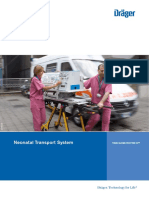 TI500 Globe-Trotter IC; Neonatal Transport System