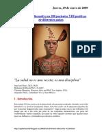 (Replantearelsida) - Tratamiento Alternativo en 200 Pacientes VIH Positivos de Diferentes Países (2009)