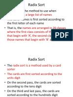 4.Radix Sort