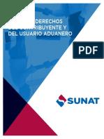 Carta de Derechos Del Contribuyente y Del Usuario Aduanero