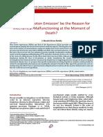 Biophoton Emission and Death