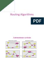 Routing Algorithms