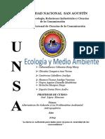 Monografia Ecologia Unsa