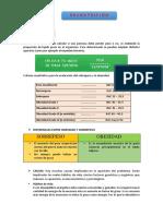 Informe de Bioquímica - Desnutrición