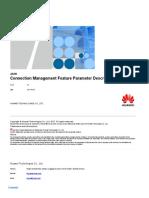 Connection Management Feature Parameter Description