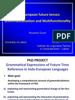 Indo-European future tenses
