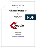 business stats