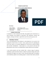 CJ Maraga Profile