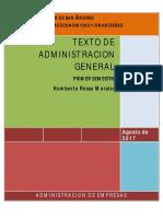 Texto de Administacion General 2016