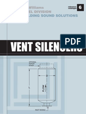 Silencer Pdf Valve Mechanical Engineering
