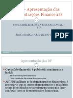 IAS 1- Apresentao Das Demonstraes Financeiras