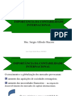 Importancia Da Contabilidade Internacional