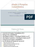Introducao a Pesquisa Contabilistica