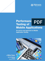 Performance Testing White Paper
