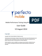 Perfecto Mobile Performance User Guide - V4 August 2014