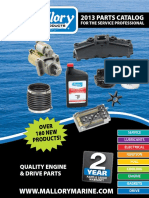 Mallory Marine 2013 Product Catalog