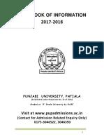HandBook of Information2017-18