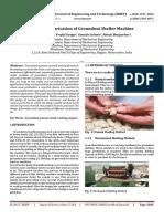 Design & Fabrication of Groundnut Sheller Machine