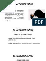 3 El Alcoholismo