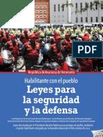 Leyes Para La Seguridad y La Defensa