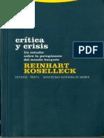 Koselleck Critica y Crisis PDF