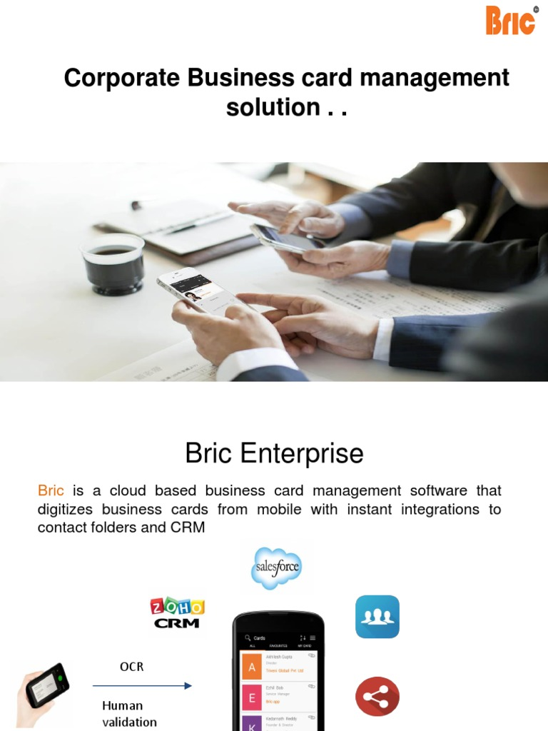 Cool Business Card Management Software Images - Business Card ...