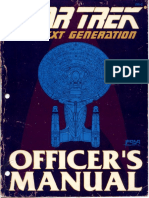 Officer's Manual - TNG • 1988