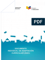 DIAC Documento Individual de Adaptación