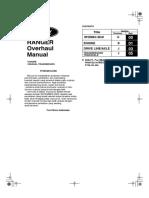 Workshop Manual Ford Ranger & Everest 2500 Cc