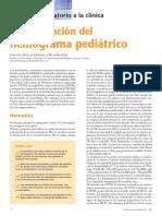 Interpretación Del Hemograma Pediátrico RESUMEN