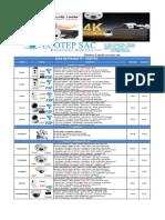 Lista de Precio Camaras IP - Instalador