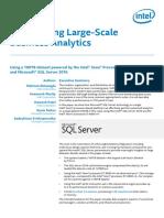 Microsoft SQL Database Analytics Paper