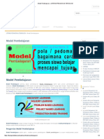 Model Pembelajaran – Literasi Pedagogi & Teknologi