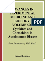(Advances in experimental medicine and biology 520) Pere Santamaria-Cytokines and chemokines in autoimmune disease-Landes  (2003).pdf