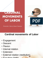 Cardinal Movements