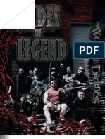 World of Darkness - Dudes of Legend