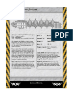 Rogue Trader Huang He Freighter Data Sheet