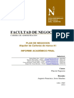Plan de Negocios  - Alquiler de carteras de marca A1.docx